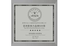 亚洲影响力品牌500强