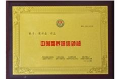 中国商界诚信领袖